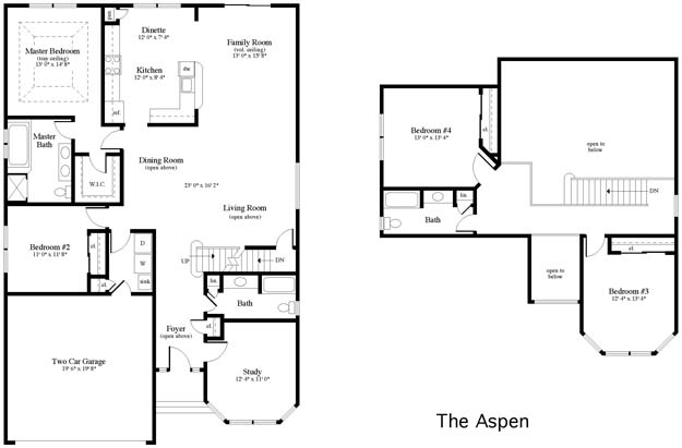 Maione homes clove hill manor for Aspen homes floor plans
